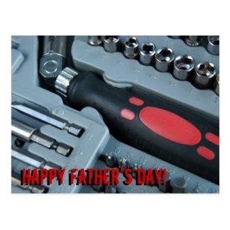 ¡El día de padre feliz! Postal