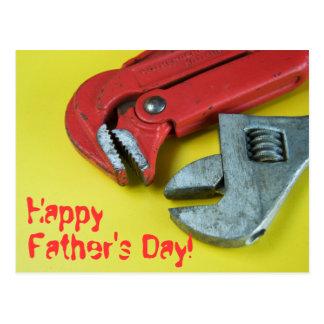 ¡El día de padre feliz! Tarjetas Postales