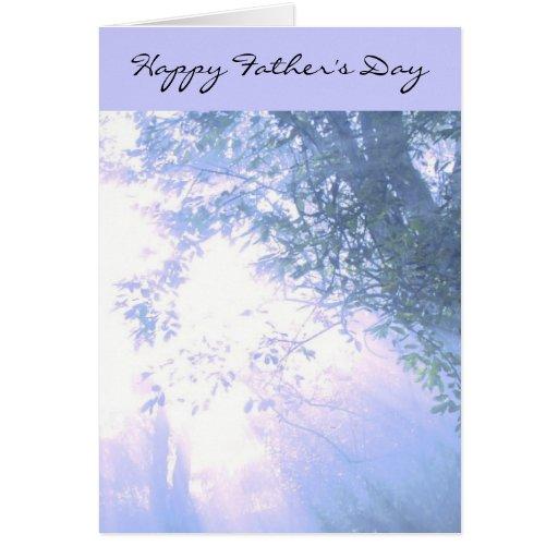 El día de padre feliz tarjeton