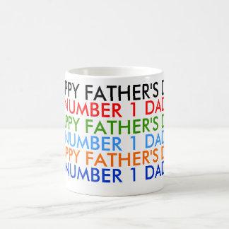 """El día de padre feliz """"taza """" taza clásica"""
