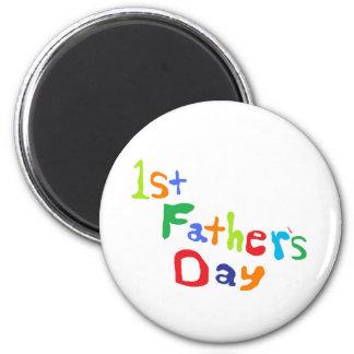 El día de padre imán redondo 5 cm