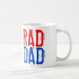 """El día de padre """"taza de café del PAPÁ del RAD"""" Taza Clásica"""