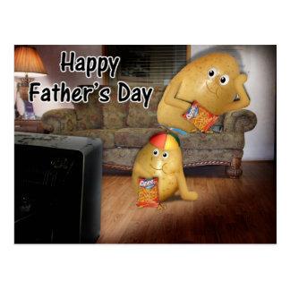 El día de padre - teleadictos y la última postal