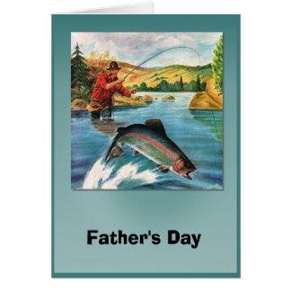 El día de padre - un qué whopper tarjeta de felicitación