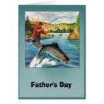 El día de padre - un qué whopper tarjetas
