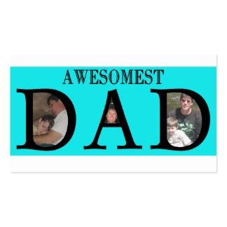 El día de padres del papá de Awesomest añade su lo Tarjeta De Negocio