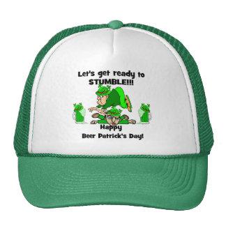 El día de Patrick feliz de la cerveza Gorra