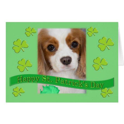 El día de rey Charles de St Patrick arrogante de l Felicitaciones