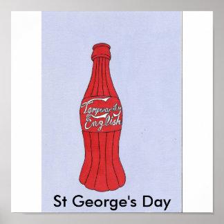 El día de San Jorge Póster