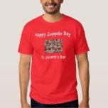 El día de San José/camiseta de Zeppole Playera