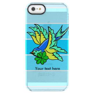 El día de San Patricio del trago del estilo del Funda Clearly™ Deflector Para iPhone 5 De Uncommon