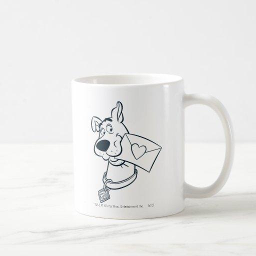 El día de San Valentín 02 de Scooby Taza