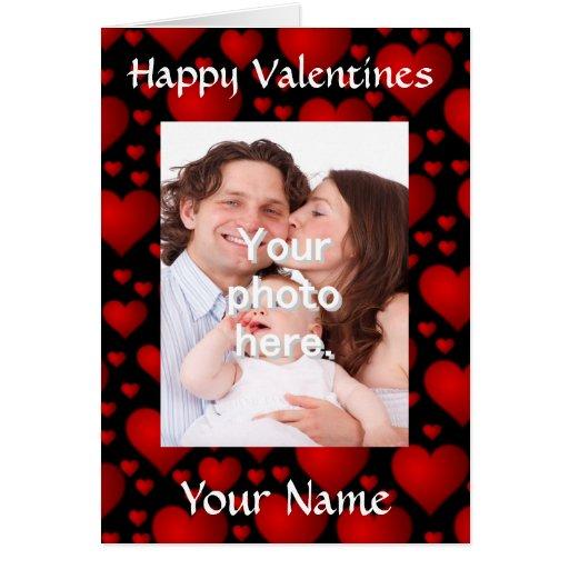 El día de San Valentín adaptable personalizado Tarjetas
