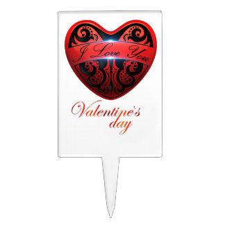 El día de San Valentín Decoraciones De Tartas