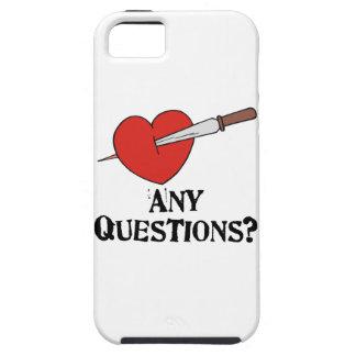 El día de San Valentín anti iPhone 5 Case-Mate Protector
