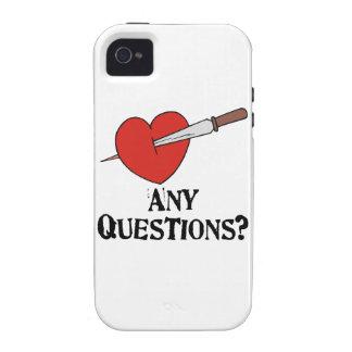 El día de San Valentín anti Case-Mate iPhone 4 Carcasas
