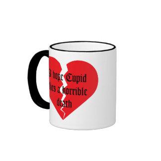 El día de San Valentín anti Taza De Café