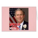 El día de San Valentín de George Bush Felicitacion