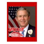 El día de San Valentín de George Bush Tarjetas Postales