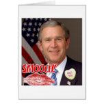 El día de San Valentín de George Bush Tarjetas