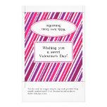 El día de San Valentín de la envoltura el | de la  Tarjetas Publicitarias