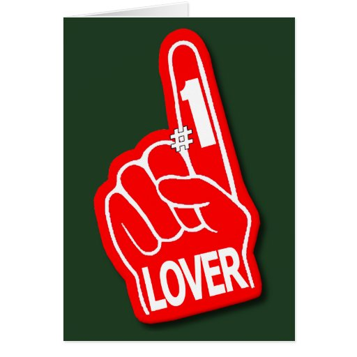 El día de San Valentín de la mano de la espuma del Tarjeta De Felicitación