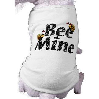 El día de San Valentín de la mina de la abeja Ropa Perro