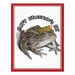 El día de San Valentín de príncipe For de la rana Flyer A Todo Color