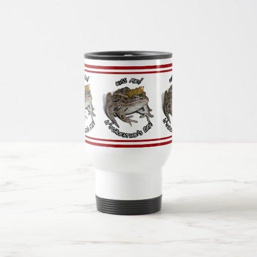 El día de San Valentín de príncipe For de la rana Tazas De Café