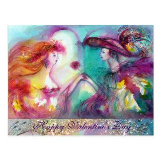 El día de San Valentín de ROMEO Y de JULIET Postal