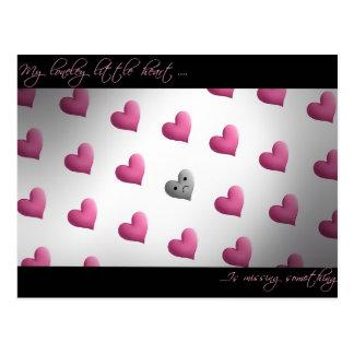 el día de San Valentín del emo Postal
