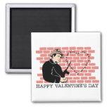 El día de San Valentín del gángster Imanes De Nevera