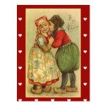 El día de San Valentín del Postal-Vintage