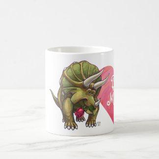 El día de San Valentín del Triceratops Taza