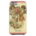 El día de San Valentín del Victorian del vintage, Funda Para iPhone 6 Tough