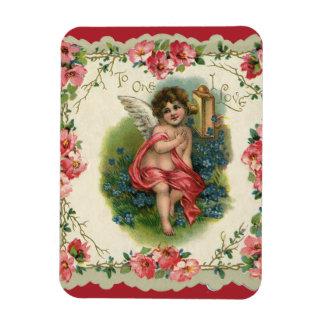El día de San Valentín del Victorian del vintage, Iman Flexible