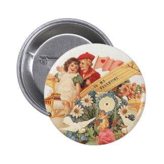 El día de San Valentín del Victorian del vintage,