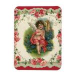 El día de San Valentín del vintage, ángel del Vict Iman