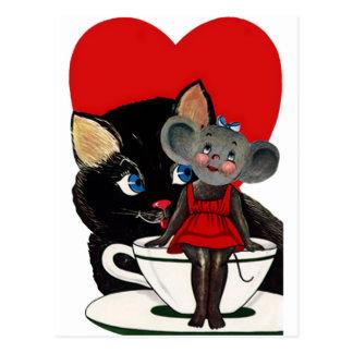 El día de San Valentín del vintage corazón de la