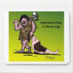 El día de San Valentín divertido cómico Alfombrilla De Ratón