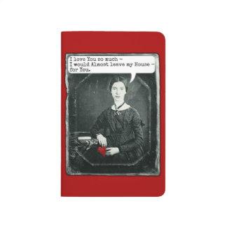 El día de San Valentín divertido de Emily Cuadernos Grapados