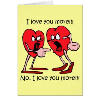 El día de San Valentín divertido Felicitacion