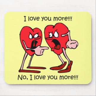 El día de San Valentín divertido Mouse Pad