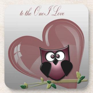 El día de San Valentín feliz al un amor de I Posavasos