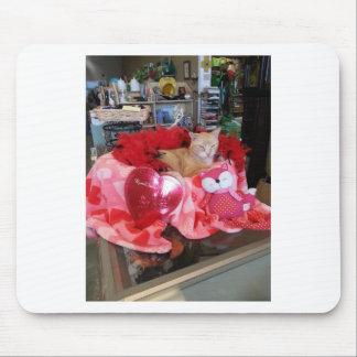 ¡El día de San Valentín feliz! Alfombrillas De Ratón