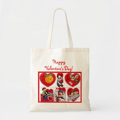 ¡El día de San Valentín feliz! Bolso Bolsa De Mano