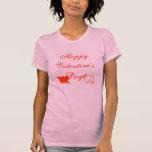 ¡El día de San Valentín feliz! Camisetas