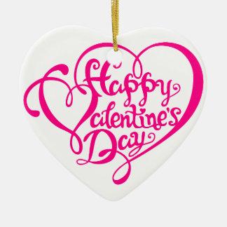 El día de San Valentín feliz con los corazones ros