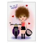 ¡El día de San Valentín feliz con una mamá de la m Felicitaciones