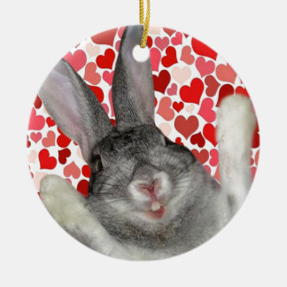 El día de San Valentín feliz DasPoohHay Adornos De Navidad